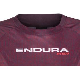 Endura MT500 Print II Jersey longarm Women mulberry